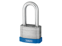 ABUS PADLOCK 40mm WITH 50mm LONG SHACKLE