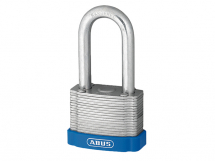 ABUS PADLOCK 50mm WITH 50mm LONG SHACKLE