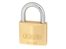 ABUS BRASS PADLOCK 40mm TWIN PACK