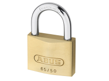ABUS BRASS PADLOCK 50mm TWIN PACK