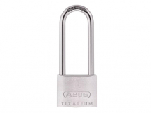 ABUS TITALIUM PADLOCK 40mm WITH 63mm LONG SHACKLE