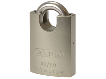 ABUS TITALIUM PADLOCK 50mm CLOSED SHACKLE