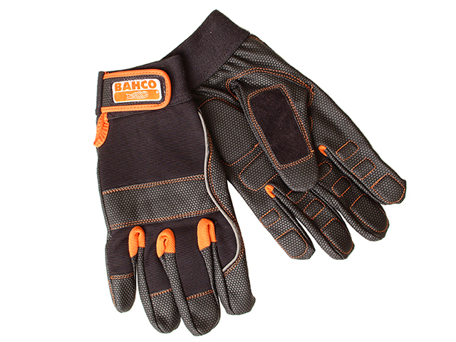 Bahco Power Tool Padded Palm Glove Sz 8
