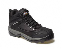 DICKIES THAMES SUPER SAFETY BOOT BLACK SIZE 7