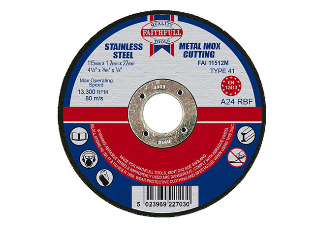 Cut Off Disc for Metal 115 x 1.2 x22mm