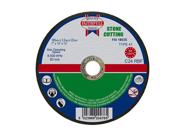 Cut Off Disc for Stone 180 x 3.2 x 22mm