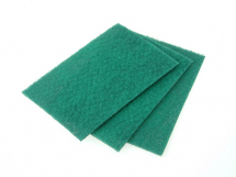 Hand Pads 230 x 150mm Pk of 10 Green - General Purpose