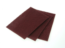 Hand Pads 230 x 150mm Pk of 10 Maroon - Very Fine