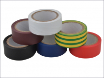 Electrical Tape PVC - White 19mm