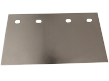 Floor Scraper Blade 200mm Stainless Steel