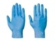 BLUE VYNATRILE POWDER FREE GLOVE MEDIUM (BX 100)