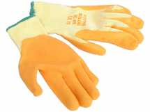 LATEX PALM GLOVE SIZE 10 BUILDERS GRIP (GLO107)