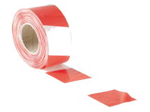Barrier Safety Tape Red/White (70mm X 500mtr)