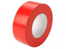 Line Marking Tape Red 50mm x 33mtr