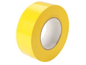 Line Marking Tape Yellow 50mm x 33mtr