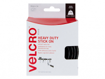 VELCRO Heavy-Duty Stick On Tape 50mm x 1m Black