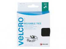 VELCRO Self Gripping Ties 30mm x 5m Black