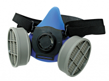 Twin Filter Respirator c/w 2 - P2 Cartridges Fitted